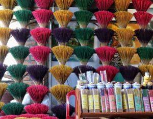 Aromas de incienso